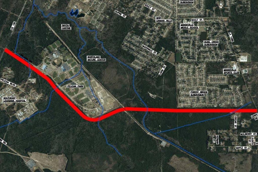 Corridor - Mandeville Bypass Construction