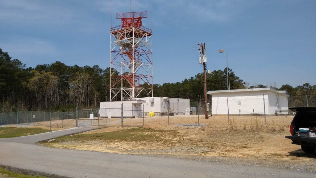 Southeast Naval Air Station - Digital Airport Surveillance Radar Site Preparation