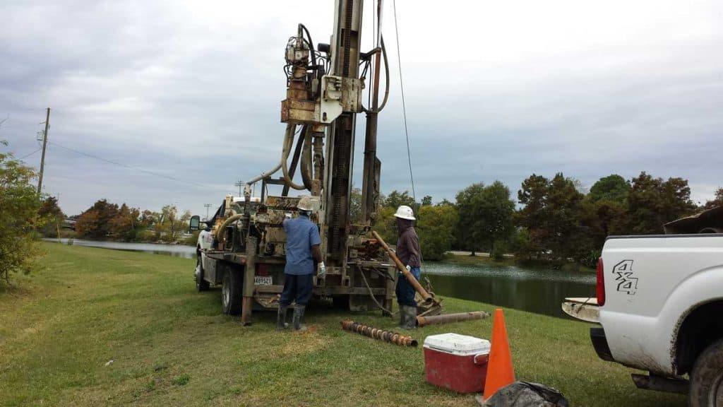 Slope Stability/Soil Stockpiling Along Bayou St. John